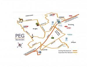 PEG Bandwidth Gore Network Map 7.15