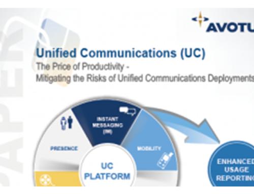 Avotus White Paper (Unified Communications)