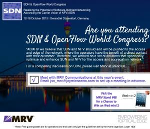 SDN & OpenFlow World Congress MRV Emailer-5