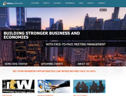 Deal-Center – Company Website Design