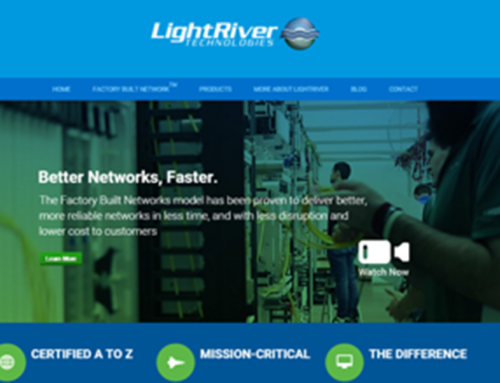 LightRiver Technologies – Company Website Design