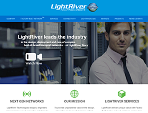 LightRiver- Company Website Design
