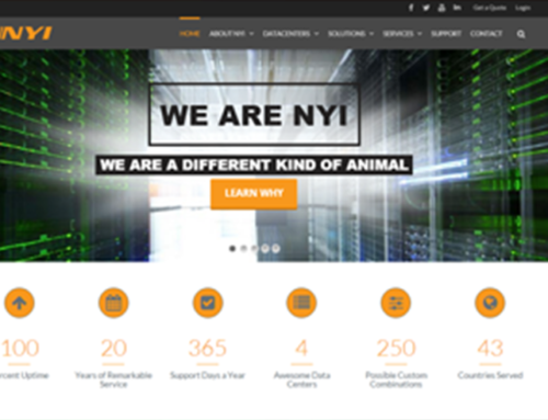 NYI – A Different Kind of Animal Website Design