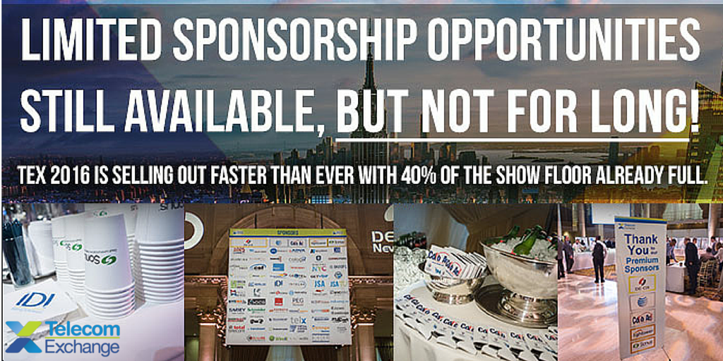 TEX 2016 Sponsorships