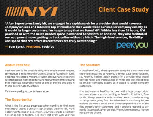NYI – PeekYou Case Study