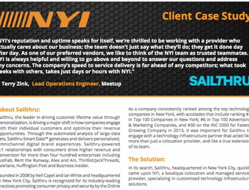 NYI – Sailthru Case Study