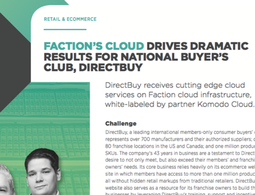 Faction – DirectBuy Case Study