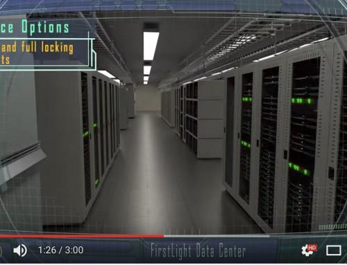 Firstlight Fiber – Manchester, NH Data Center Tour Video