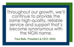 NGN Paul Belk Quote