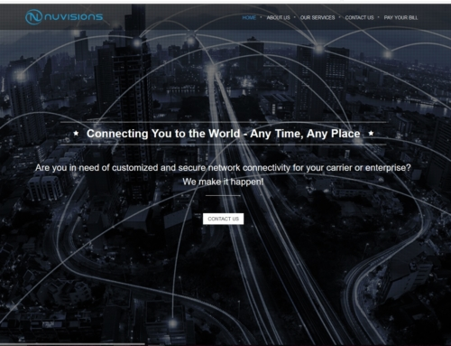 nuvisions – New Company Website