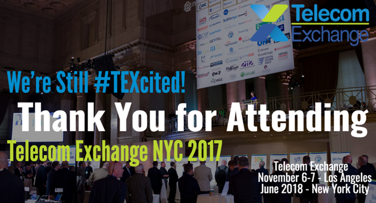 TEX NYC 2017 Thank You