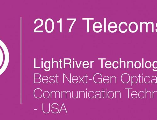 LightRiver Wins Best Next-Gen Optical Communication Technology Provider Award