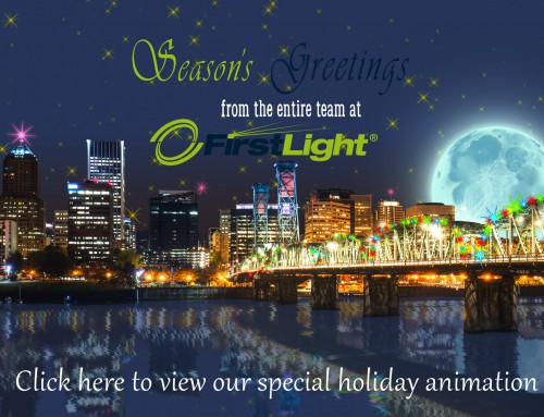 FirstLight Animated Holiday eCard