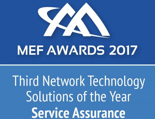 CENX Wins Top Service Assurance Solution in the Third Network Technology Category at MEF 2017 Awards