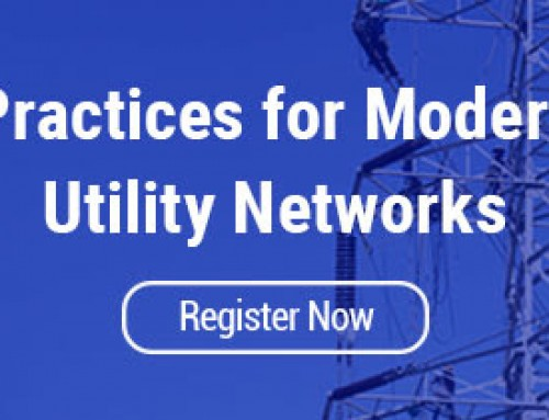 Save Your Seat for the Best Practices for Modernizing Utility Networks Webinar