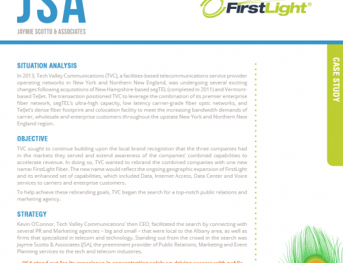 JSA Customer Case Study – FirstLight