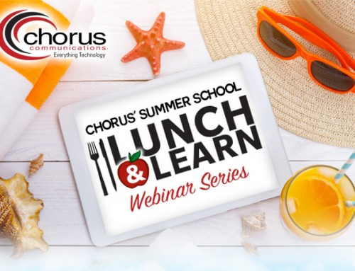 Grab Those Pencils, Chorus Communications' Lunch & Learn Summer School Is in Session