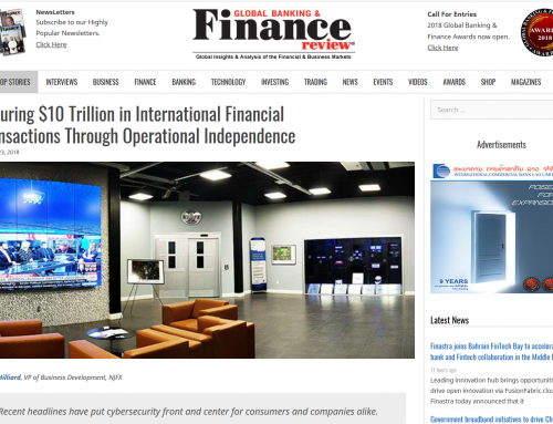 Securing $10 Trillion in International Financial Transactions Through Operational Independence (Global Banking & Finance Review)