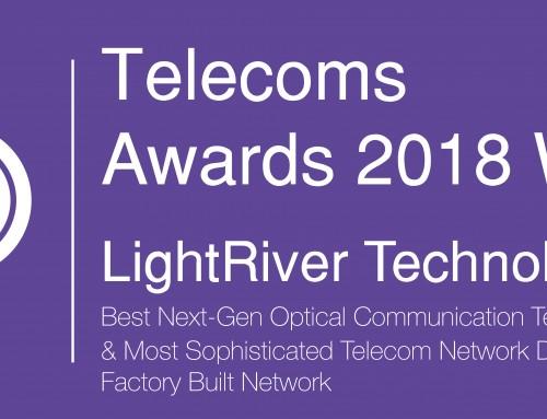 LightRiver Wins Best Next-Gen Optical Communication Technology Provider for 2018