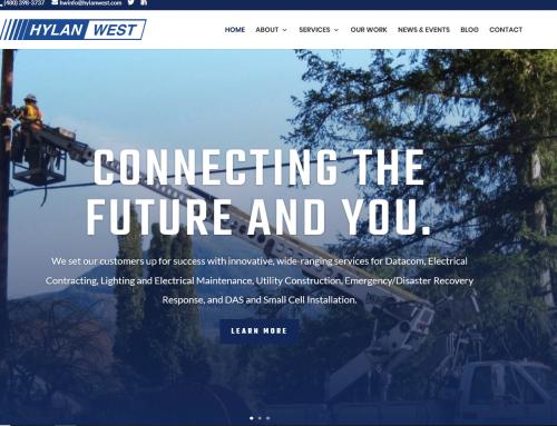 Hylan West Unveils New Website