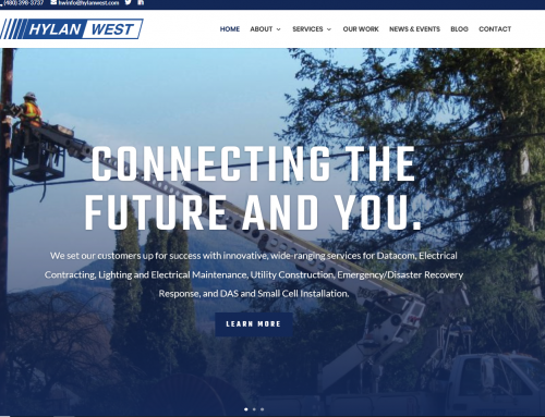 Hylan West – Company Website Design