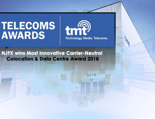 NJFX Wins Most Innovative Carrier-Neutral Colocation & Data Centre 2018