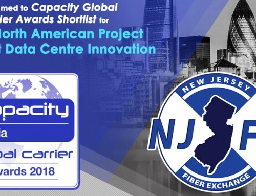 NJFX makes Capacity's Shortlist for TWO Global Carrier Awards: Best North American Project and Best Data Centre Innovation
