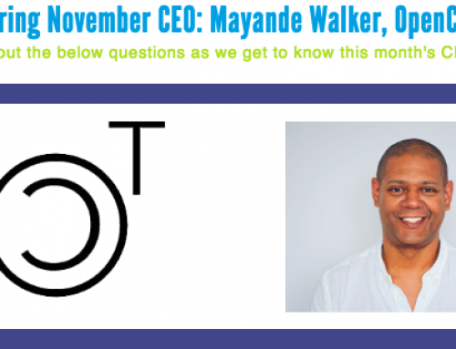 CEO Exchange Honors November CEO of the Month: Mayande Walker, OpenCT