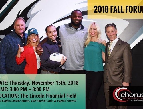 Networking, Knowledge, Football and Fun at Chorus Communications' Fall Forum