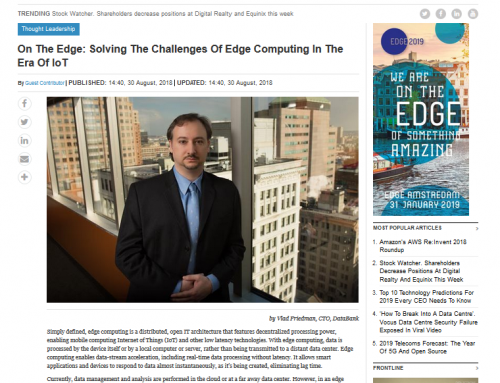 On the Edge: Solving the Challenges of Edge Computing in the Era of IoT (Data-Economy)