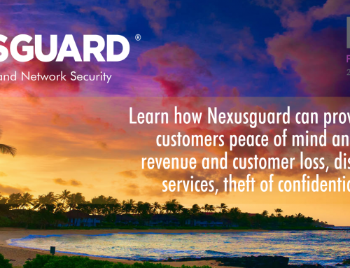 Nexusguard to Highlight Customized Solutions at PTC'19