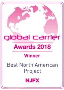 NJFX Global Carrier award 2018