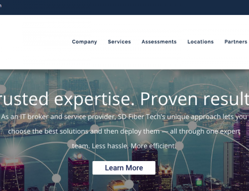 A New Website for SD Fiber Tech – IT Broker and Service Provider
