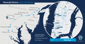 United Fiber and Data map