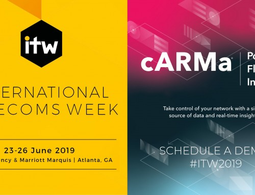 ARM Data Center Software to Present Live Demos of cARMa® Platform at International Telecoms Week!