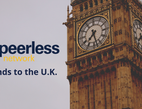 Peerless Network Expands Internationally in the U.K.