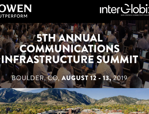 InterGlobix President to Lead Subsea Workshop at Cowen Annual Communications Infrastructure Summit