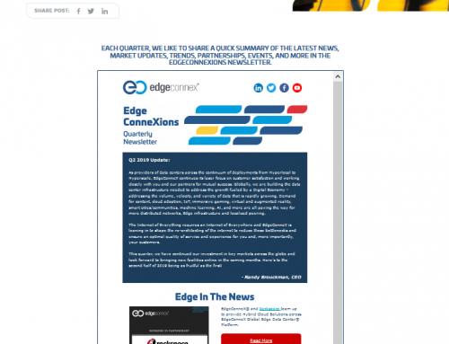 EdgeConneXions Newsletter