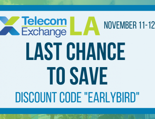The Breakthrough Ideas May Last, but the Discounts Don't. Last Chance to Save on TEX LA Tickets!