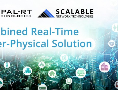 SCALABLE and OPAL-RT Release Latest Technology