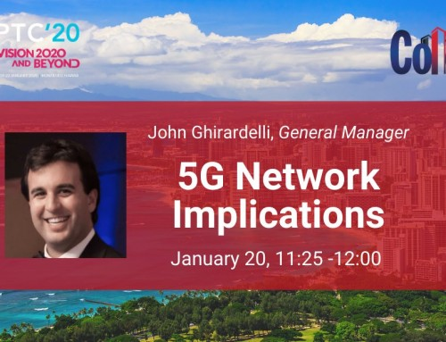 Colo Atl General Manager to Speak on 5G Implications at PTC'20