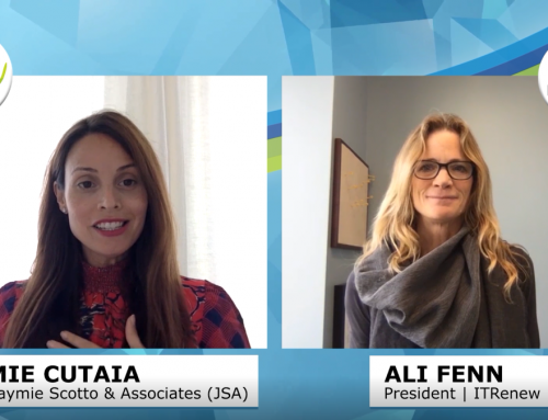 ITRenew President Ali Fenn Talks Circular Data Centers with JSA TV