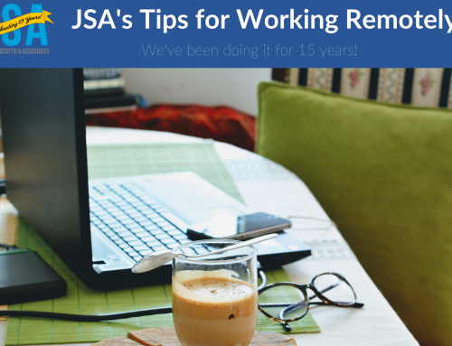 JSA's Top Tips for Working Remotely