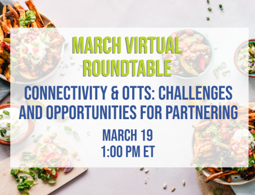 Last Chance to Register (and order your lunch!) for the March JSA Virtual Roundtable