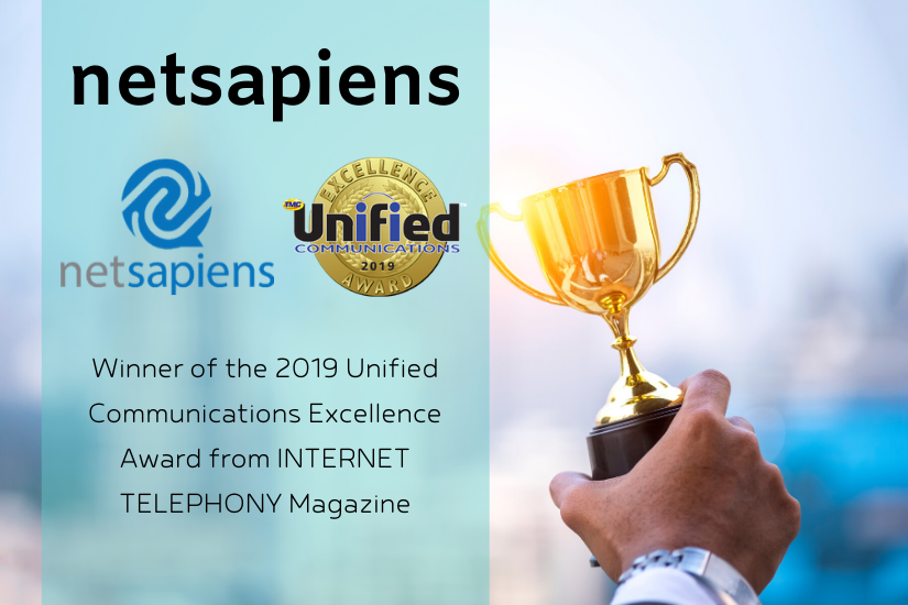 Internet Telephony Magazine awards netsapiens Unified Communications Excellence Award for 2019