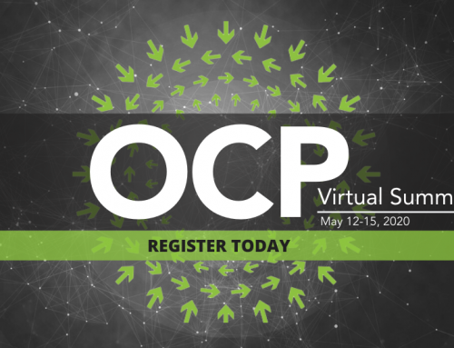 OCP's Virtual Summit Registration Is Open