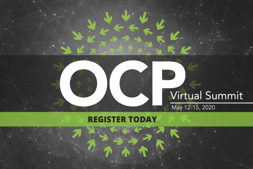 OCP 2020 Virtual Summit